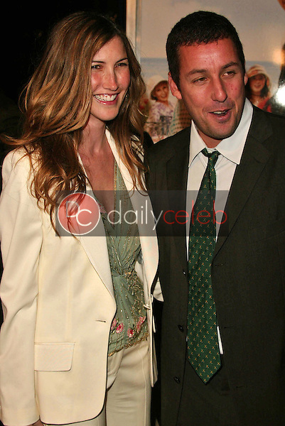 Adam Sandler and wife Jackie