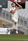 8th September 2017, Emirates Old Trafford, Manchester, England; Specsavers County Championship, Division One; Lancashire versus Essex; Tom Bailey of Lancashire bowls during the afternoon session