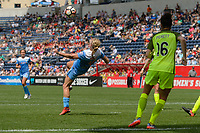 Bridgeview, IL - Sunday June 04, 2017: Alyssa Mautz during a regular season National Women's Soccer League (NWSL) match between the Chicago Red Stars and the Seattle Reign FC at Toyota Park. The Red Stars won 1-0.