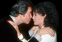 Dick Clark Connie Francis 1982<br /> Photo By Adam Scull/PHOTOlink.net