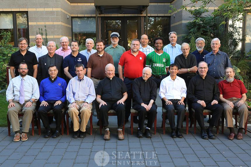 09192012- Seattle University 2012 Jesuit community group shot