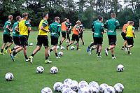 MARIENHOF - Voetbal, Trainingskamp FC Groningen , seizoen 2017-2018, 13-07-2017, uitlopen aan eind training
