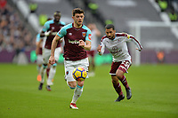 Aaron Cresswell during West Ham United vs Burnley, Premier League Football at The London Stadium on 10th March 2018