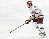 Andrew Orpik - Boston College defeated Merrimack College 3-0 with Tim Filangieri's first two collegiate goals on November 26, 2005 at Kelley Rink/Conte Forum in Chestnut Hill, MA.