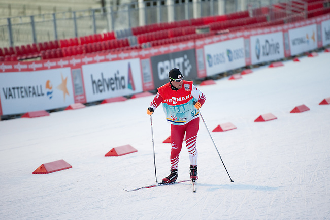 HOLMENKOLLEN, OSLO, NORWAY - March 14: During the official training for the FIS Nordic Combined World Cup on the cross-country skiing track on March 14, 2013 in Oslo, Norway. (Photo by Dirk Markgraf).