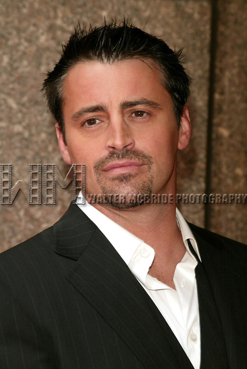 Matt LeBlanc.Attending the NBC Network 2004-2005 Upfront announcements at Radio City Music Hall in New York City.