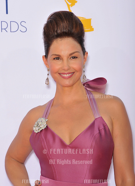 Ashley Judd at the 64th Primetime Emmy Awards at the Nokia Theatre LA Live..September 23, 2012  Los Angeles, CA.Picture: Paul Smith / Featureflash