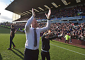 02/05/16 Sky Bet League Championship  Burnley v QPR<br /> Sean Dyche &amp; family celebrate
