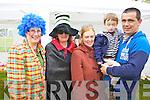Pictured at Ardfert family fun day on Sunday were l-r: Jude O'Gorman, Tina Horgan, Ceclia O'Callghan with Killian Foley and Denis Foley..