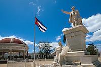 Cuba, am Parque Jose Marti in Cienfuegos, Unesco-Weltkulturerbe