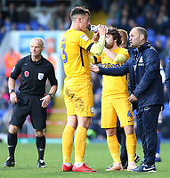 Preston North End manager Alex Neil dishes out instructions<br /> <br /> Photographer David Shipman/CameraSport<br /> <br /> The EFL Sky Bet Championship - Ipswich Town v Preston North End - Saturday 3rd November 2018 - Portman Road - Ipswich<br /> <br /> World Copyright &copy; 2018 CameraSport. All rights reserved. 43 Linden Ave. Countesthorpe. Leicester. England. LE8 5PG - Tel: +44 (0) 116 277 4147 - admin@camerasport.com - www.camerasport.com