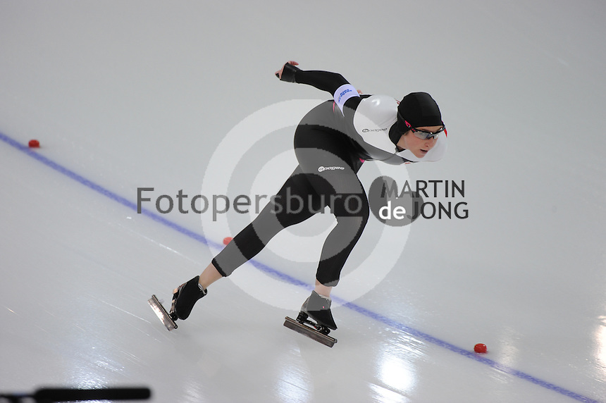 OLYMPICS: SOCHI: Adler Arena, 19-02-2014, Ladies' 5000m, Ivanie Blondin (CAN), ©photo Martin de Jong