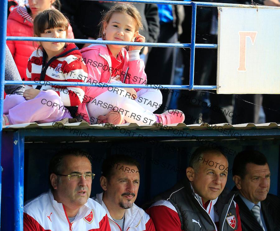 Fudbal Kup Srbije season 2015-2016<br /> Backa v Crvena Zvezda<br /> head coach Miodrag Bozovic (L)<br /> Backa Palanka, 28.10.2015.<br /> foto: Srdjan Stevanovic/Starsportphoto&copy;