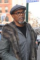 www.acepixs.com<br /> March 6, 2017 New York City<br /> <br /> Samuel L. Jackson at AOL Build Speaker Series<br /> on March 6, 2017 in New York City.<br /> <br /> Credit: Kristin Callahan/ACE Pictures<br /> <br /> <br /> Tel: 646 769 0430<br /> e-mail: info@acepixs.com