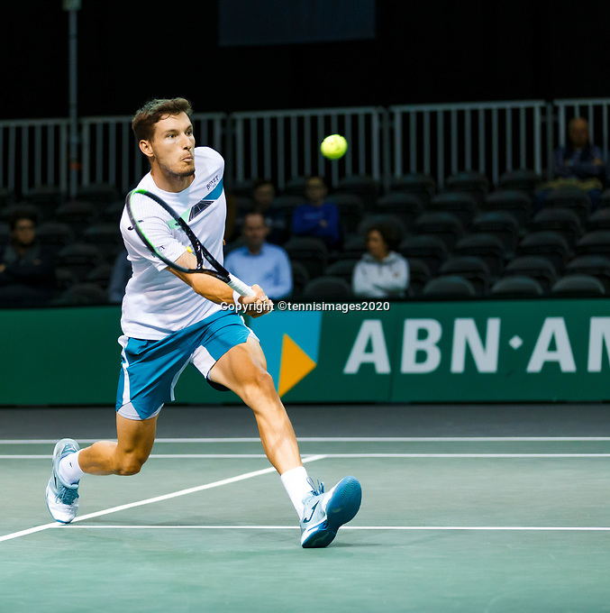 Rotterdam, The Netherlands, 12 Februari 2020, ABNAMRO World Tennis Tournament, Ahoy, Pablo Carrenos Busta (ESP).<br /> Photo: www.tennisimages.com
