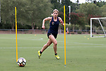 CARY, NC - JULY 27: McCall Zerboni. The North Carolina Courage held a training session on July 27, 2017, at WakeMed Soccer Park Field 7 in Cary, NC.