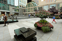 Photography of the Wells Fargo Atrium at Two Wells Fargo Center in Charlotte, NC...Photo by: PatrickSchneiderPhoto.com
