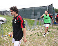Pato of AC Milan during a practice session at RFK practice facility in Washington DC on May 24 2010.