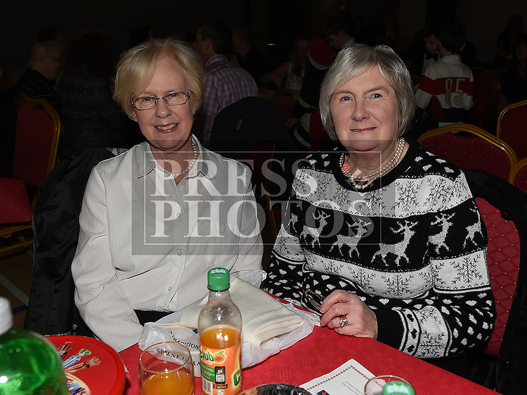 Rosemary Callaghan and Ann Campbell at the Trio Royale show in St. Kevins GAA club Philipstown. Photo:Colin Bell/pressphotos.ie