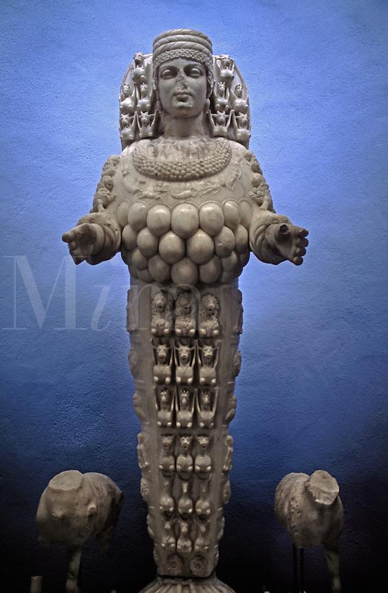 Statue of Artemis in the EPHESUS MUSEUM - TURKEY