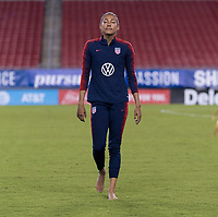 Tampa, FL - March 4, 2019:  The USWNT trains in preparation for the final game of the SheBelieves Cup at Raymond James Stadium.