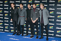 One Direction attend the 40 Principales Awards at Barclaycard Center in Madrid, Spain. December 12, 2014. (ALTERPHOTOS/Carlos Dafonte) /NortePhoto