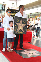 LOS ANGELES - AUG 22:  Adam Silverman, Eric Cowell, Simon Cowell at the Simon Cowell Star Ceremony on the Hollywood Walk of Fame on August 22, 2018 in Los Angeles, CA