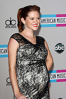 LOS ANGELES - NOV 20:  Sarah Drew arrives at the 2011 American Music Awards at Nokia Theater on November 20, 2011 in Los Angeles, CA