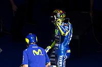 Valentino Rossi of Italy and Movistar Yamaha MotoGP during the race of  MotoGP of Catalunya at Circuit de Catalunya on June 11, 2017 in Montmelo, Spain.(ALTERPHOTOS/Rodrigo Jimenez) (NortePhoto.com) (NortePhoto.com)