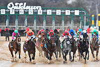 HOT SPRINGS, AR - FEBRUARY 19:Start of the Razorback Handicap at Oaklawn Park on February 19, 2018 in Hot Springs, Arkansas. (Photo by Ted McClenning/Eclipse Sportswire/Getty Images)