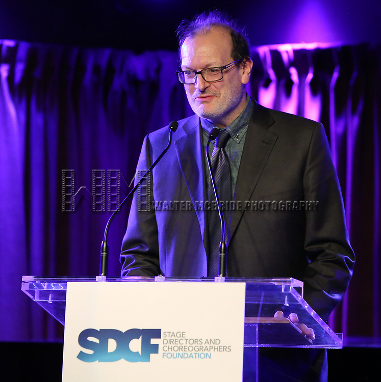 Arthur Rotch on stage during the Second Annual SDCF Awards, A celebration of Excellence in Directing and Choreography, at the Green Room 42 on November 11, 2018 in New York City.