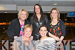 NIGHT AT THE DOGS: The staff of KCC revenue department enjoying a great time at the Kingdom Greyhound Stadium Night at the Dogs on Friday seated l-r: Kathleen Curtin and Joanne Murphy. Back l-r: Carol Horan, Karen Lynch and Catherine Tobin.