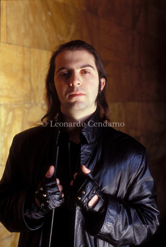 2003: RICCARDO RACCIS, WRITER  © Leonardo Cendamo