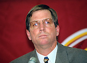 Washington Redskins head coach Norv Turner is introduced at a press conference at Redskins Park in Ashburn, Virginia on February 2, 1994.<br /> Credit: Ron Sachs / CNP