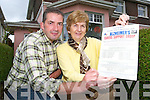Added service: Martin Greenwood and Bridie Mulvihill of the LIstowel Alzheimer's Day Care at the Family Resource Centre who have increased the service by an extra day in Listowel.    Copyright Kerry's Eye 2008
