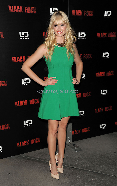 """Beth Behrs at the screening of """"Black Rock"""" held at the Arclight Theatre in Los Angeles, CA. on May 8, 2013."""