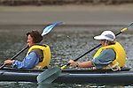 Claudia Willhoff & Lucie Easley Kayaking