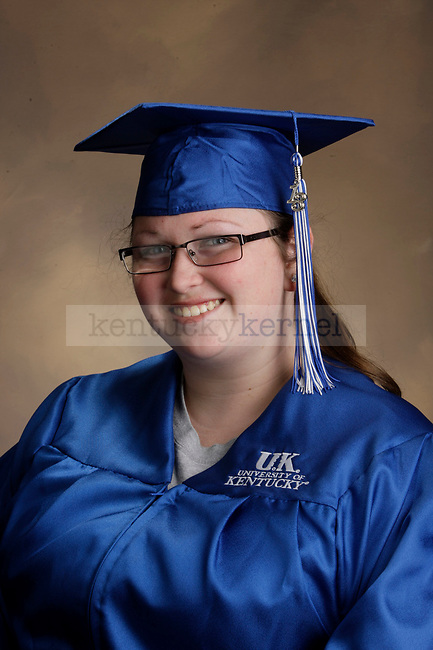 Burgess, Emily photographed during the Feb/Mar, 2013, Grad Salute in Lexington, Ky.