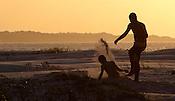 Praia das Corvinas no entorno da cidade e regi&atilde;o de manguezal.<br /> Salin&oacute;polis, Par&aacute;, Brasil.<br /> Foto Paulo Santos<br /> 28/07/2014