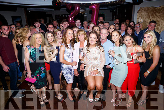 Majella Shanahan, Kielduff, Tralee celebrates her 21st birthday with family and friends at Benners Hotel on Friday