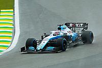 15th November 2019; Autodromo Jose Carlos Pace, Sao Paulo, Brazil; Formula One Brazil Grand Prix, Practice Day; George Russell (GBR) Williams Racing FW42 - Editorial Use