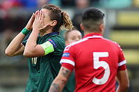 Cristiana Girelli of Italy dejection<br /> Castel di Sangro 12-11-2019 Stadio Teofolo Patini <br /> Football UEFA WomenÕs EURO 2021 <br /> Qualifying round - Group B <br /> Italy - Malta<br /> Photo Cesare Purini / Insidefoto