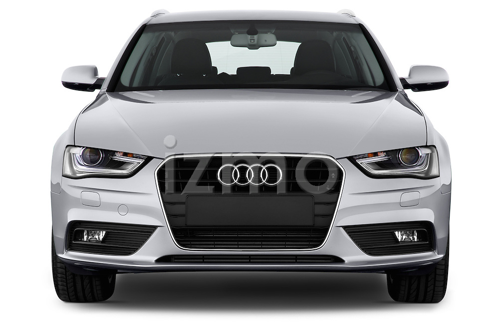 Straight front view of a 2014 Audi A4 AMBITION LUXE 5 Door Wagon 2WD