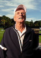 USTA National Mens 85 & 90 Grass Court Championships.Longwood Cricket Club..89-yr-old Tony Coker from Fort Myers, FL.