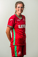 Wedensday 26 July 2017<br />Pictured: Katy Hosford<br />Re: Swansea City Ladies Squad 2017- 2018 at the Liberty Stadium, Wales, UK