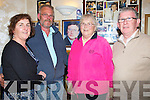REMEMBERING: What a night friends of the late Michael Donovan had in the Greyhound Bar, Tralee as they watched Video's and piceures of Michael, l-r: Jacinta Wheatman, Tim and Patsy O'Connor and Tom Seymou (Tralee).