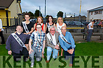 The dancers in the Austin Stacks GAA Strictly Come Dancing launch in the club house on Monday night. Kneeling l-r, David Malone, Shane Casey, John Galvin and Malachy Nagle.<br /> Back l-r, Mary Kate McQuire, Pauline Barrett, Kate McDonagh and Mary Lacey.