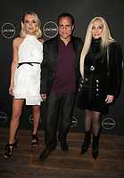 WEST HOLLYWOOD, CA - JANUARY 9: Chelsea Frei, Maurice Benard, Victoria Gotti, at the Lifetime Winter Movies Mixer at Studio 4 at The Andaz Hotel in West Hollywood, California on January 9, 2019. <br /> CAP/MPIFS<br /> &copy;MPIFS/Capital Pictures