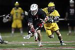 Orange, CA 02/28/09 -  Jordan Kirshner (Michigan #33) and Chris Small (Chapman #16)