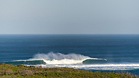 MARGARET RIVER, Western Australia/AUS (Thursday, March 30, 2017) - The Drug Aware Margaret River Pro, Stop No. 2 of the World Surf League (WSL) Championship Tour (CT) continued today with men's Round 2 called ON for a 7:05 a.m. start. After seeing an historic opening day at North Point, competition was relocated to Main Break where the world's best surfers faced building eight foot (2.5 metre) waves.  A light onshore SW wind came in late morning.  Photo: joliphotos.com